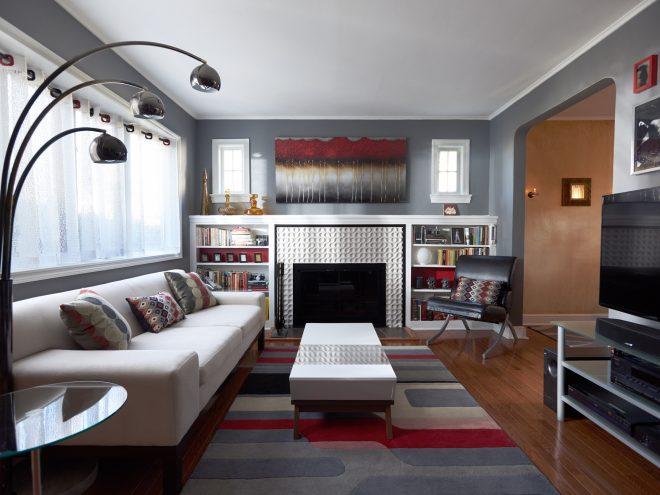 Living/dining room • NJ