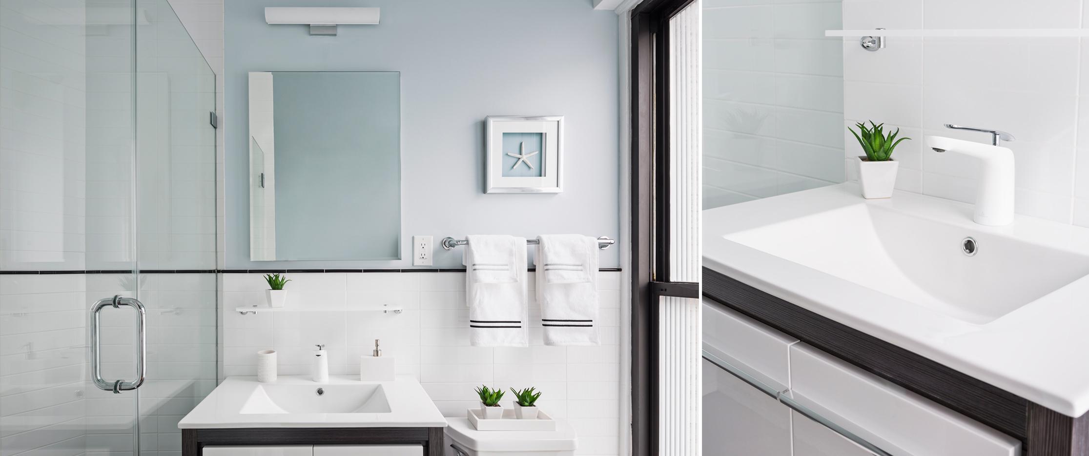 Inside Wright bathroom
