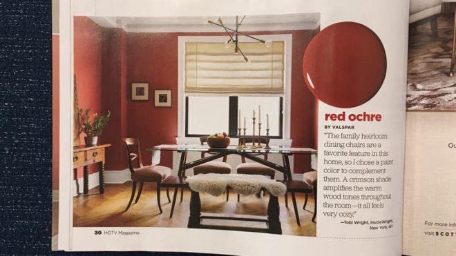 InsideWright's midcentury interior featured in HGTV Magazine